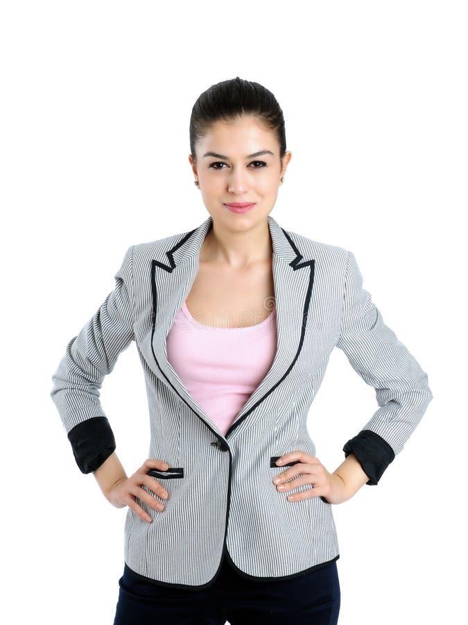 Schöne attraktive Geschäftsfrauen stockfoto