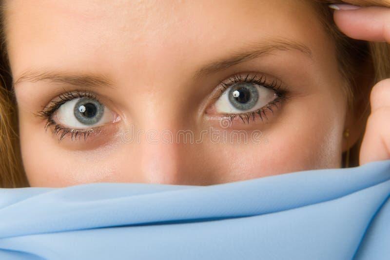 Schöne Augen stockfoto