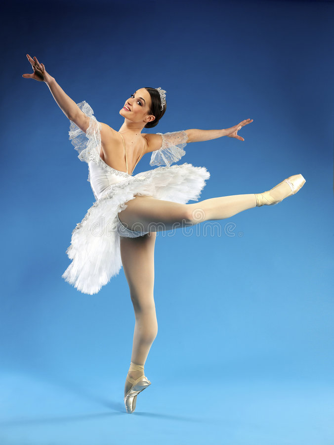 Schöne Ballerina lizenzfreies stockbild