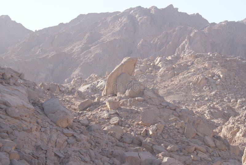 Schöne Berge in Ägypten lizenzfreie stockfotografie