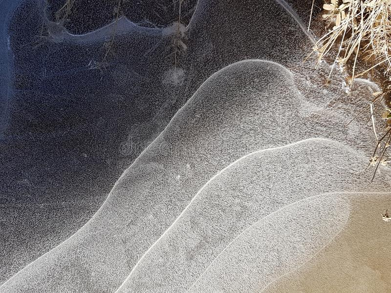 Schöne Bilder des Eises, des Wassers und des Landes in Cañadas Del Teide, Teneriffa 11 stockbilder