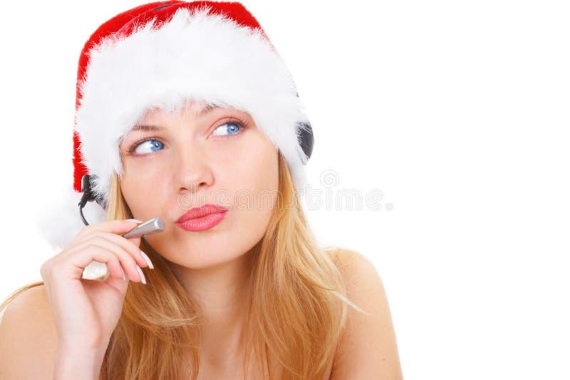 Schöne blaue Augen lizenzfreie stockbilder