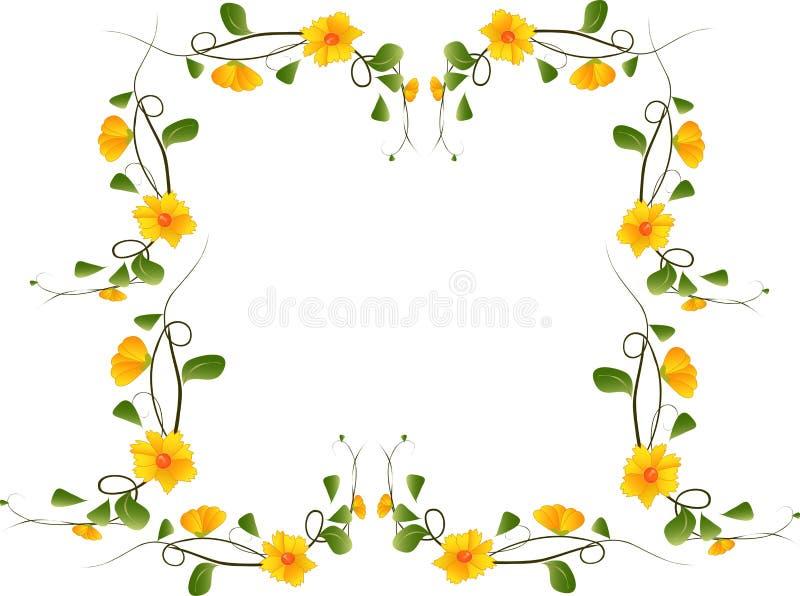 Schöne Blume lizenzfreie abbildung
