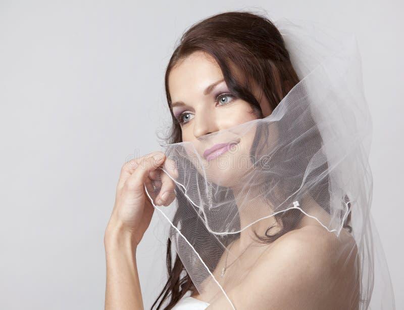 Download Schöne Braut stockbild. Bild von glück, blumen, kaukasisch - 26365283