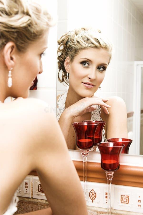 Download Schöne Braut stockfoto. Bild von fashion, nett, blond - 9084290