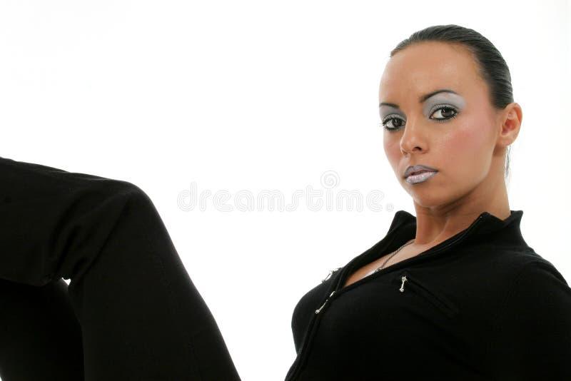 Schöne bulgarische Frau stockfotos