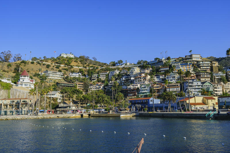 Schöne Catalina Island lizenzfreie stockfotos