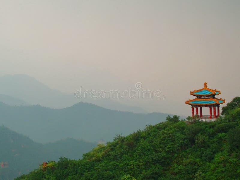 Schöne chinesische Pagode stockfotografie