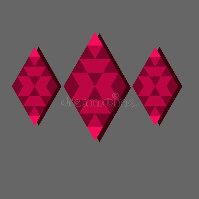 Schöne Diamanten vektor abbildung