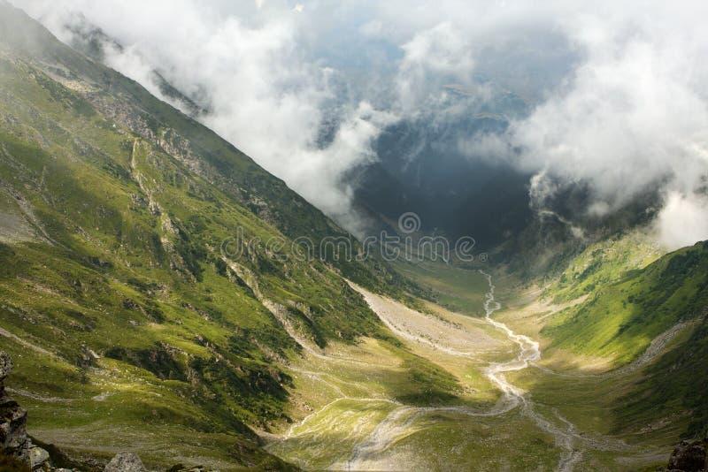 Schöne Fagaras Berge stockbilder
