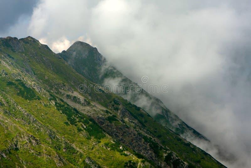Schöne Fagaras Berge lizenzfreies stockfoto