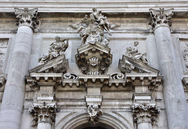 Schöne Fassade Sans Stae stockfotos