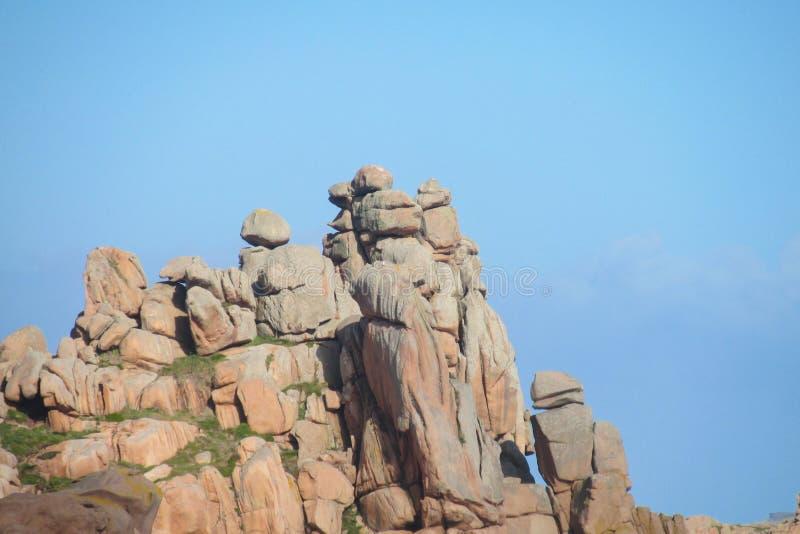 Schöne Felsen-Anordnung lizenzfreie stockfotografie