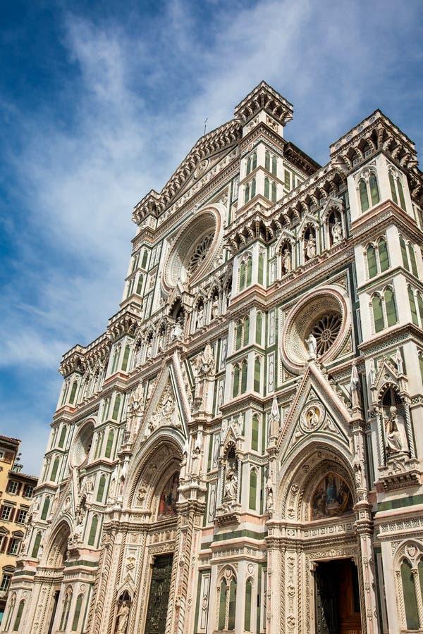 Schöne Florence Cathedral widmete im Jahre 1436 lizenzfreies stockbild