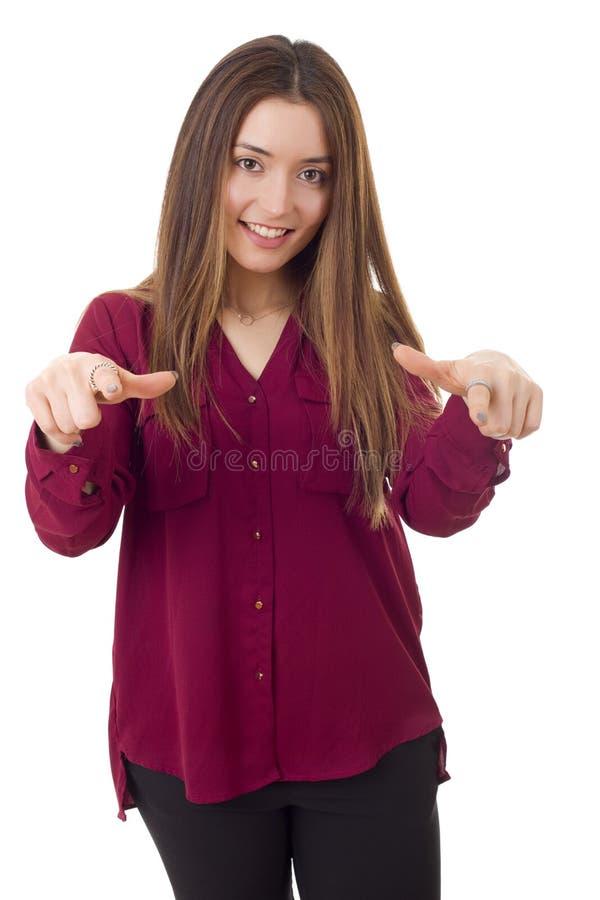 Schöne Frau lizenzfreie stockfotos