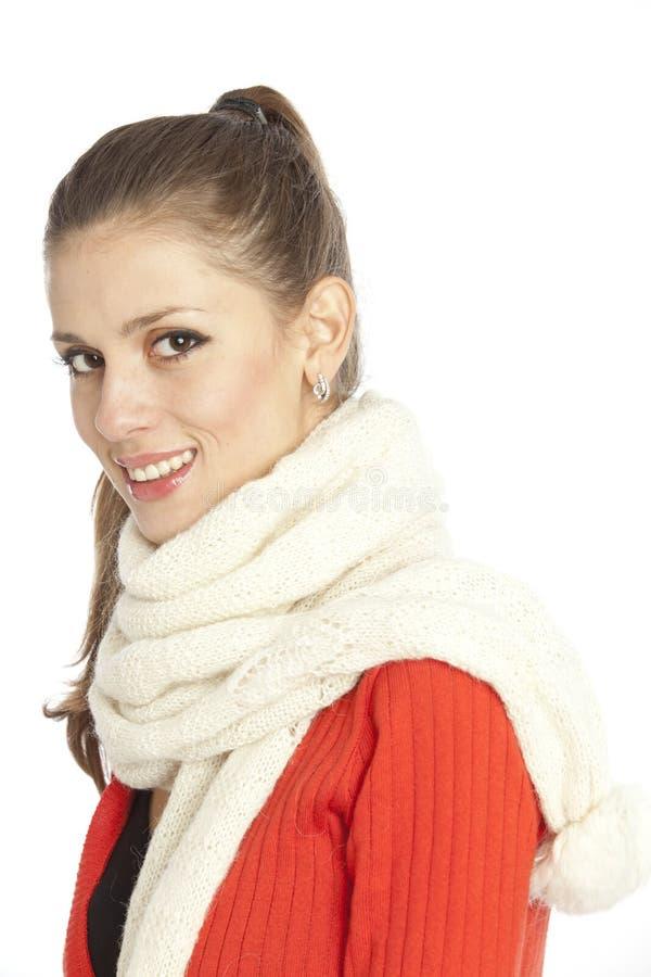 Schöne Frau lizenzfreies stockbild