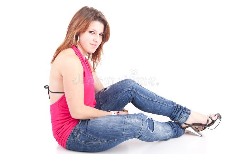 Schöne Frau lizenzfreie stockbilder