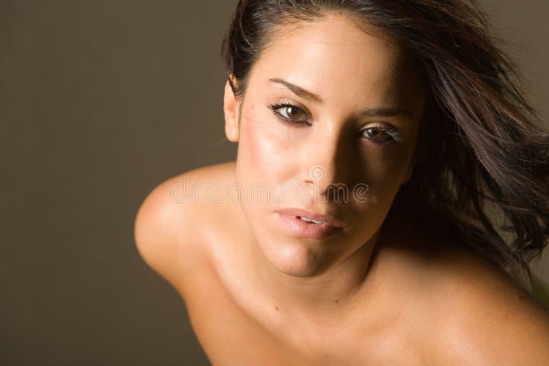 Schöne Frau stockfoto