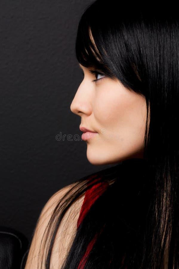 Schöne Frau stockbild