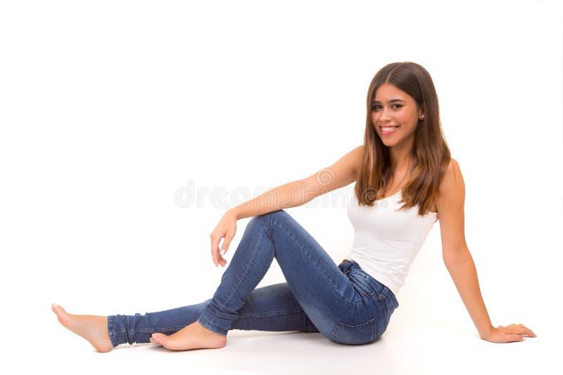 Schöne Frau stockbilder