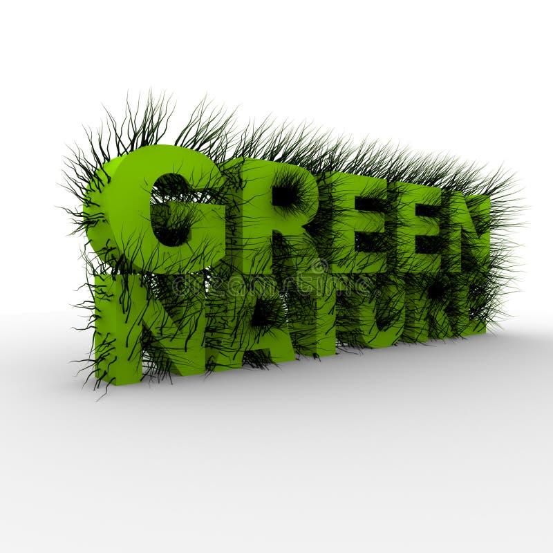 Schöne grüne Natur vektor abbildung