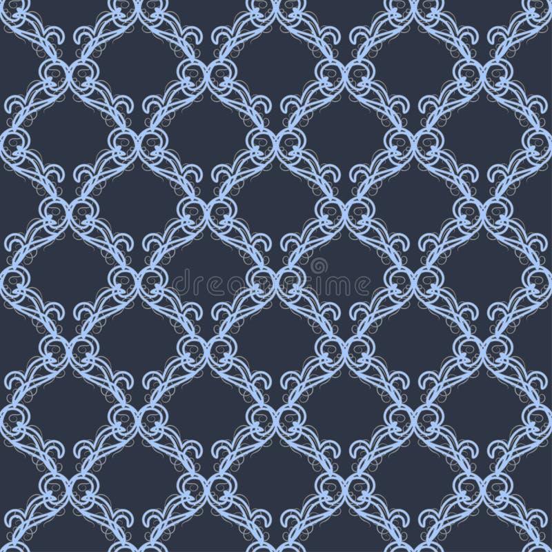 Schöne Grußkarte mit empfindlichem Muster Vektor vektor abbildung