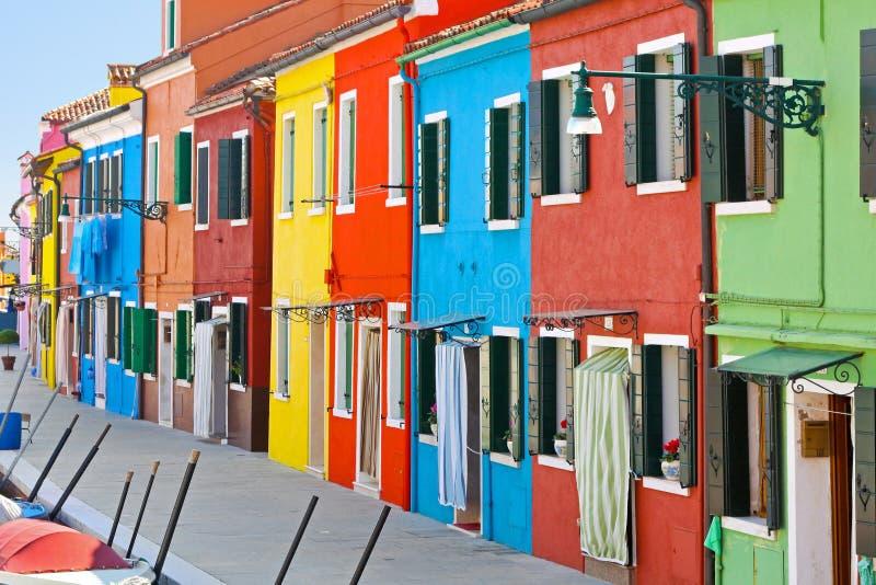 Schöne Häuser lizenzfreies stockfoto