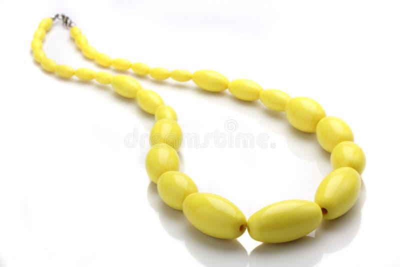 Schöne Halskette lizenzfreies stockfoto