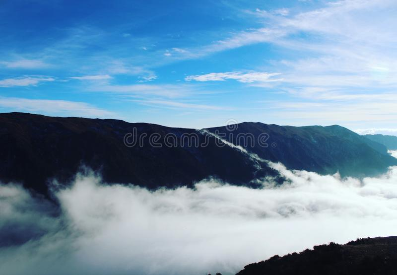 Schöne Himmel stockfotos