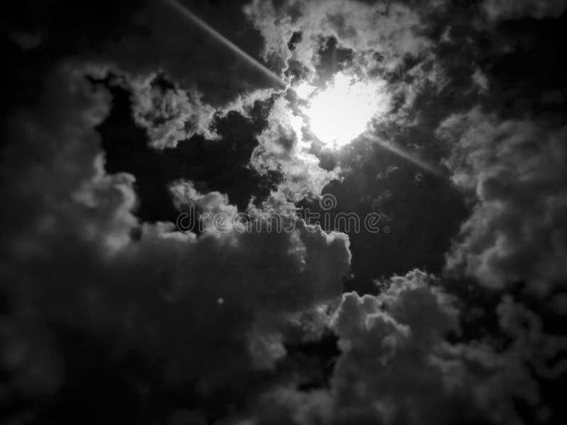 Schöne Himmel stockfoto