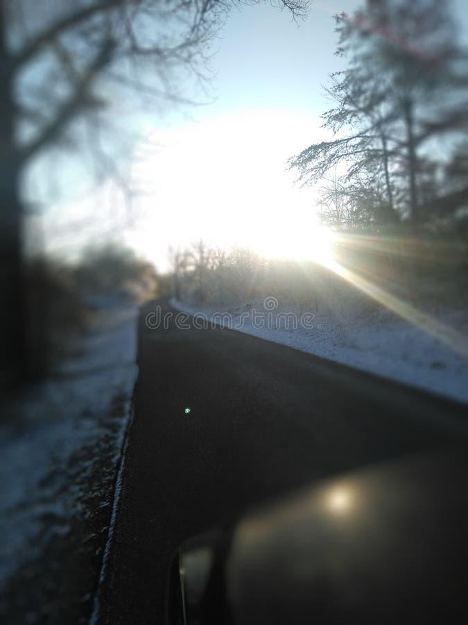 Schöne hintere Straßen von Kentucky stockfoto