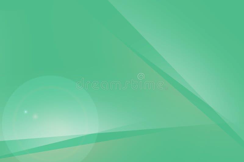 Schöne Hintergrundgrünzusammenfassung für Netz und Design stock abbildung