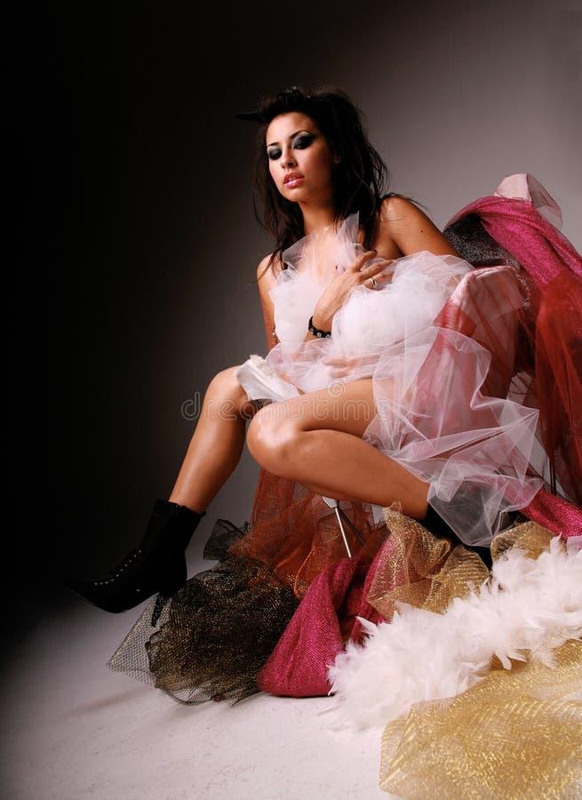 Schöne hispanische Frau stockfotos