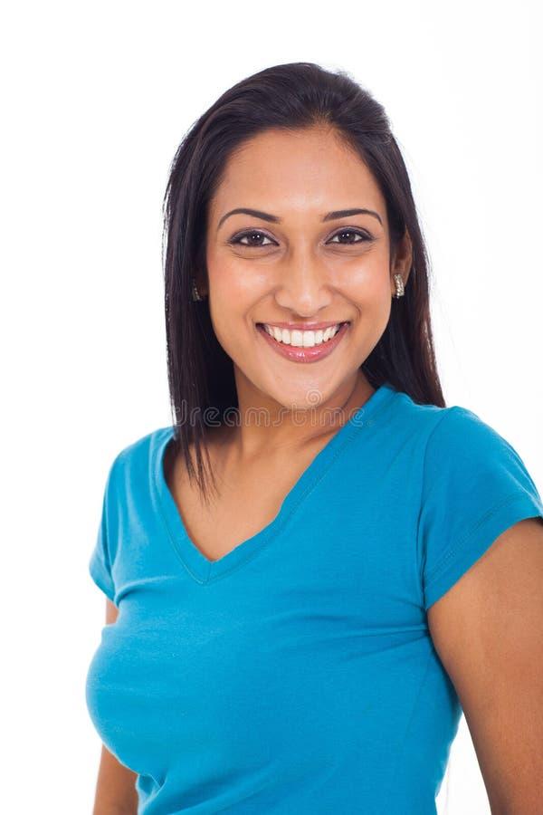 Schöne indische Frau stockfotos
