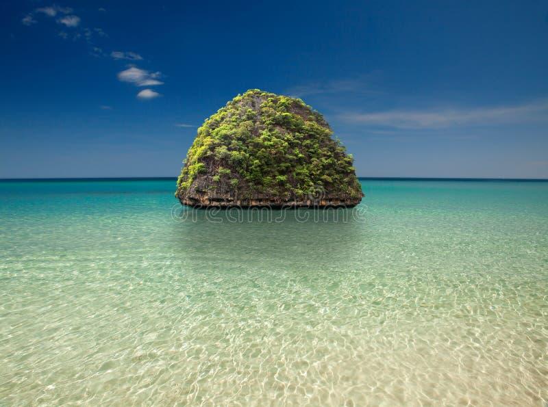 Schöne Insel lizenzfreie stockfotografie
