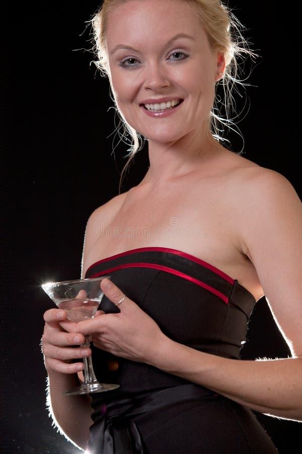 Schöne Jahrkaukasierfrau stockfoto