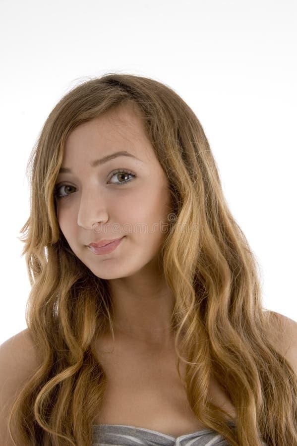 Schöne junge Frau lizenzfreies stockbild