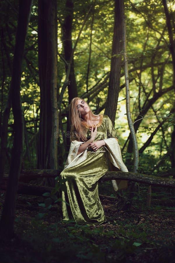 Schöne Königin des Waldes stockfoto