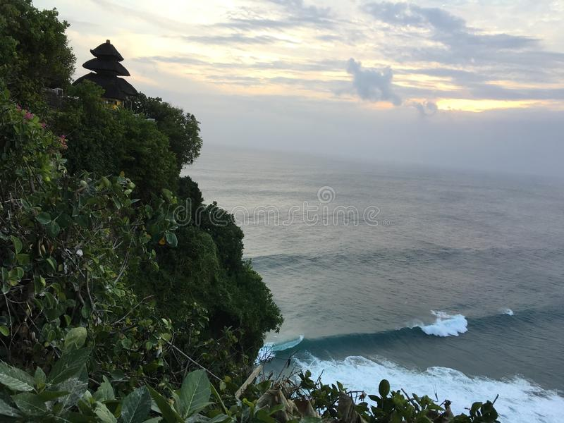Schöne Küste von Bali, Indonesien lizenzfreie stockfotos