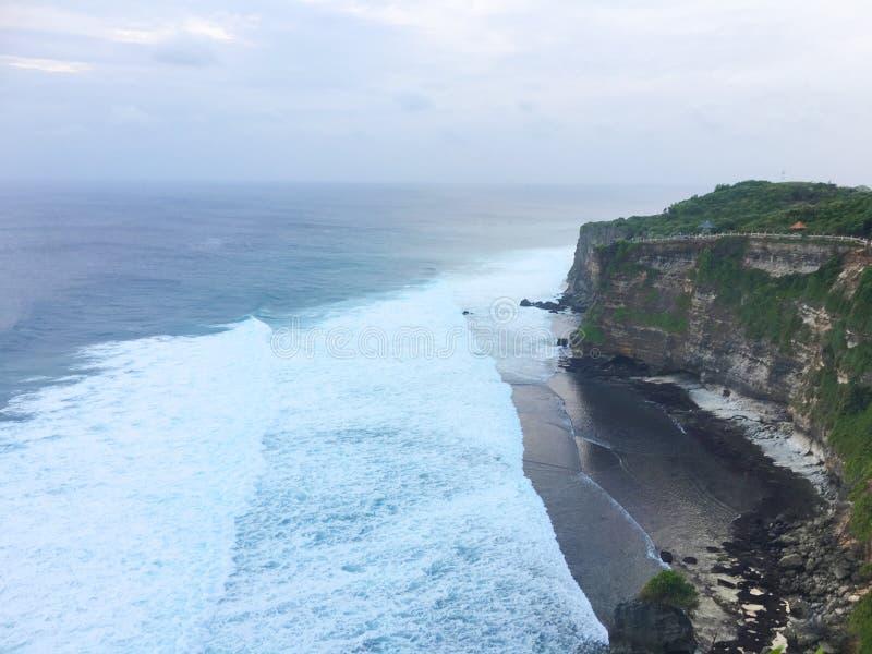 Schöne Küste von Bali, Indonesien stockbild