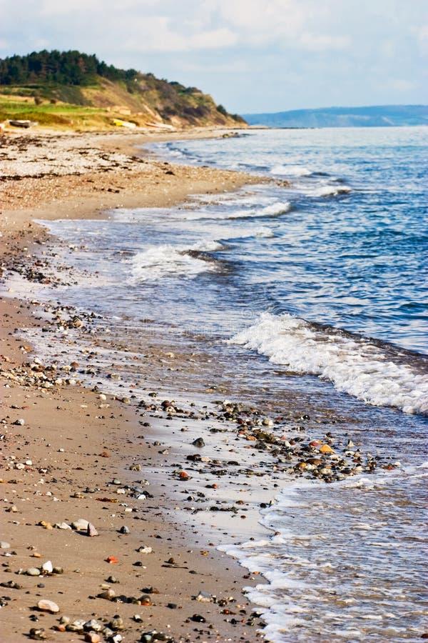 Schöne Küstenlinie lizenzfreie stockfotos