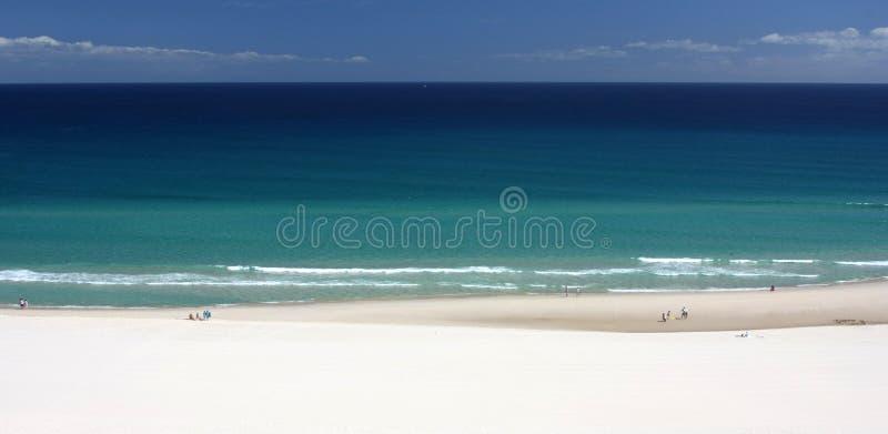 Schöne Küstenlinie stockfoto