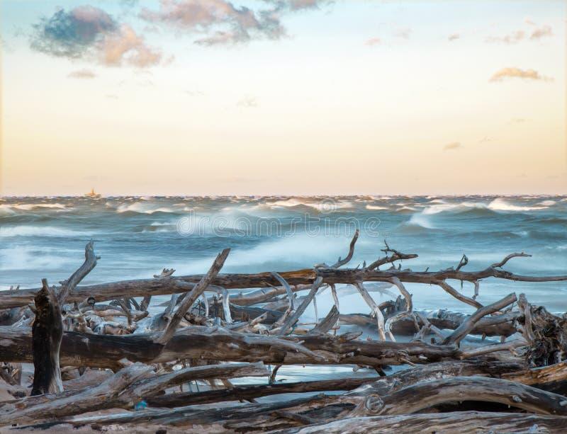 Schöne Küstenszene lizenzfreie stockfotografie