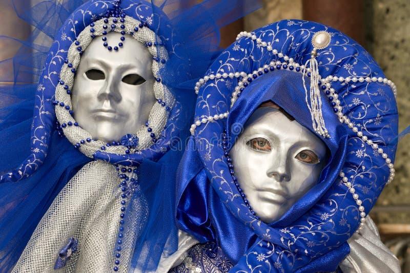 Schöne Karnevalsschablonen stockbilder