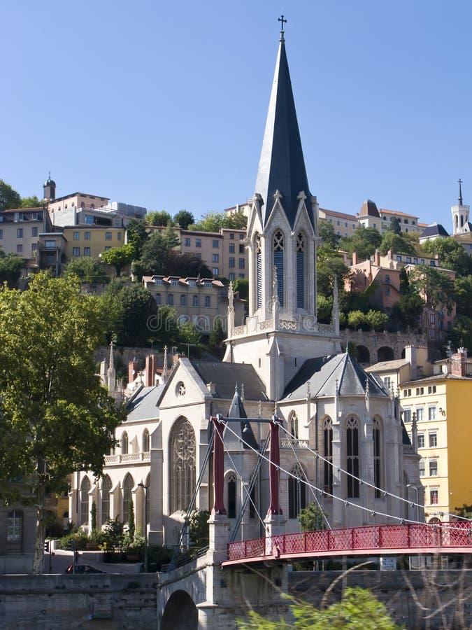 Schöne Kirche stockfoto