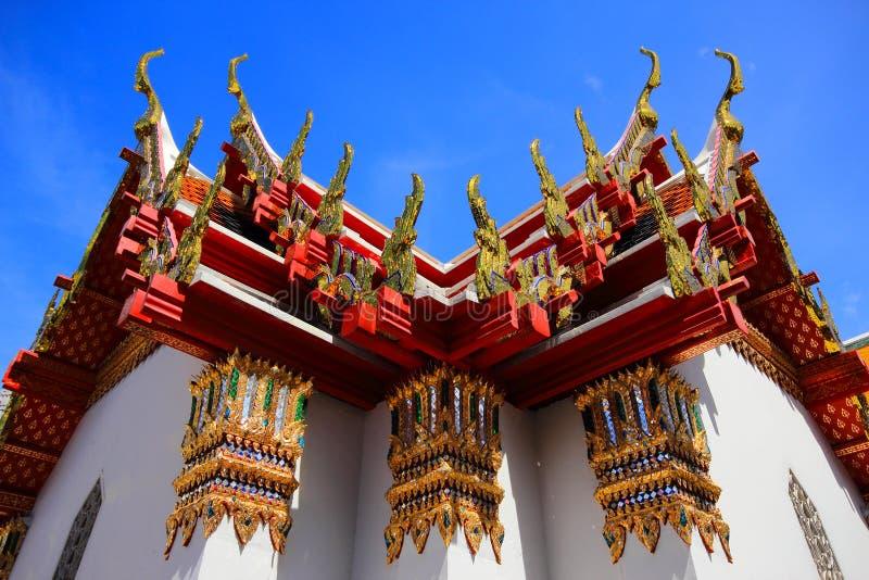 Schöne Kirche in Thailland stockbilder