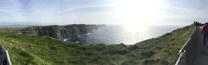 Schöne Klippen von Moher, Irland lizenzfreie stockfotografie