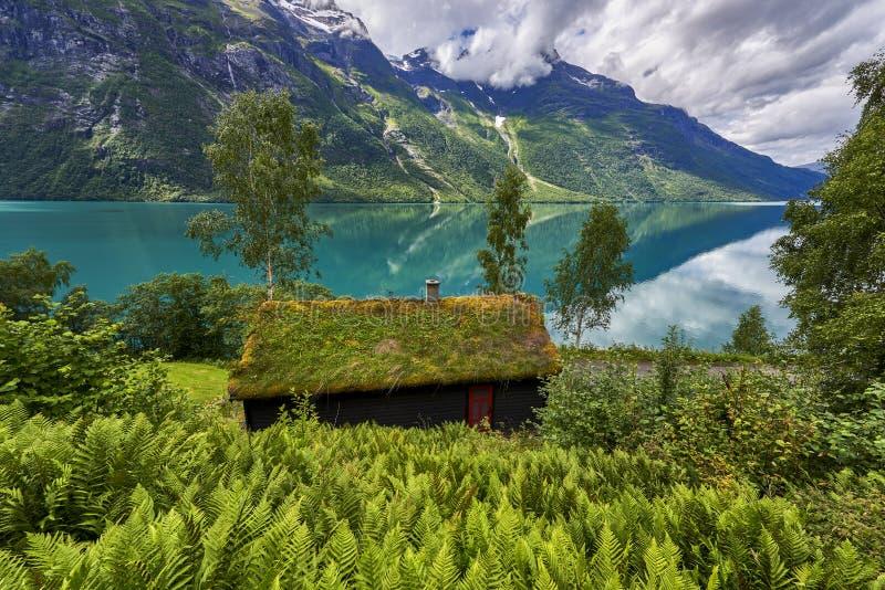 sch ne landschaft von norwegen skandinavien natur stockfoto bild von boot nave 76039280. Black Bedroom Furniture Sets. Home Design Ideas