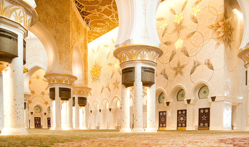 Schöne Moschee lizenzfreie stockfotografie