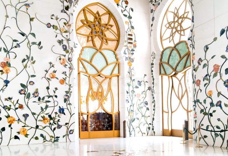 Schöne Moschee lizenzfreies stockfoto